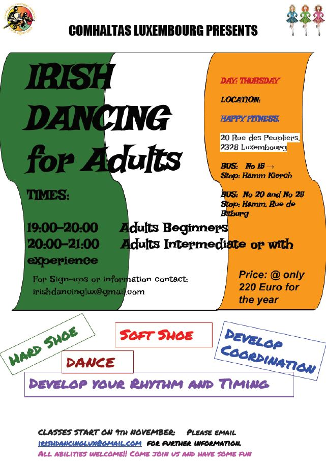 Step Dancing Classes