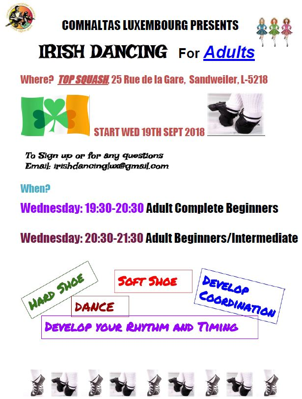 Irish Dancing 2018 Adult